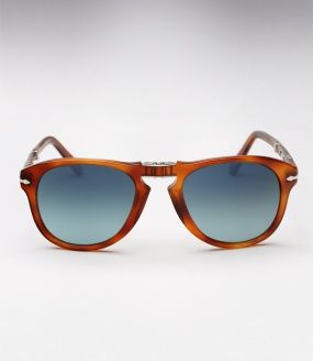 Persol 714SM - Honey Tortoise w/ Blue Gradient Polarized