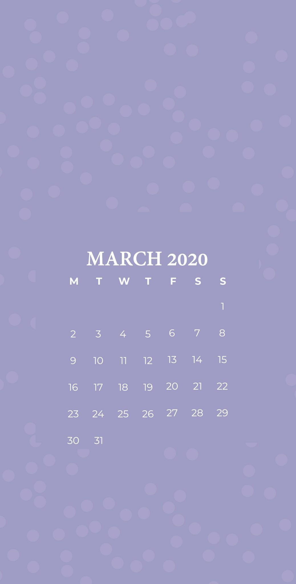 Iphone March 2020 Calendar Wallpaper In 2020 Printable Calendar