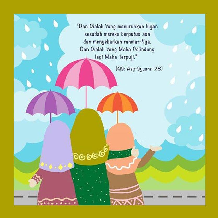 Karena Nasihat Pemberian Terbaik Seorang Sahabat Hujan Iman