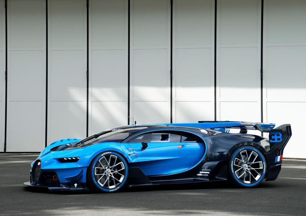 This Is The Real Live Version Of Bugatti S Vision Gran Turismo Video Game Car Bugatti First Bugatti Bugatti Chiron