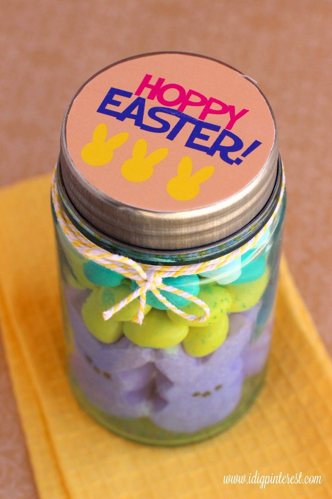 I dig pinterest hoppy easter treat jar gift with silhouette print i dig pinterest hoppy easter treat jar gift with silhouette print cut negle Images