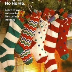 Vintage Christmas Stocking Knitting Pattern Free : Free Knitted Xmas Stocking Pattern Free Knitting Patterns Christmas Stockin...
