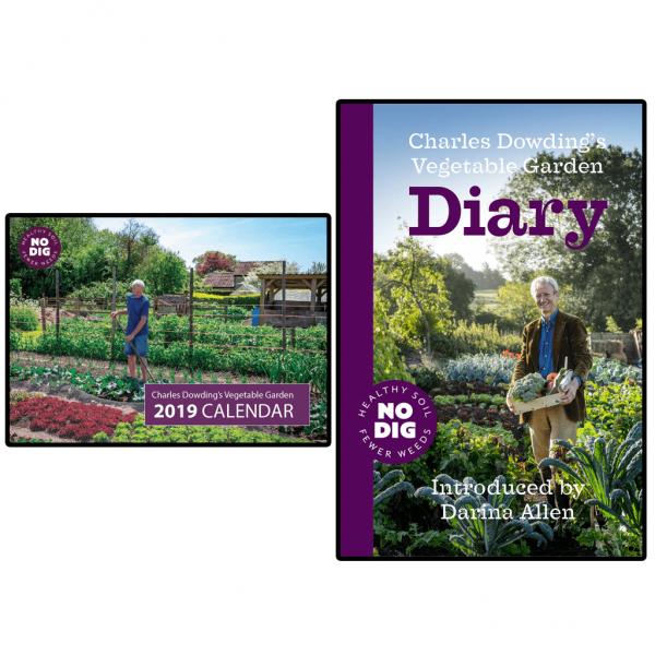 Charles Dowding's Vegetable Garden Diary Garden Diary 400 x 300