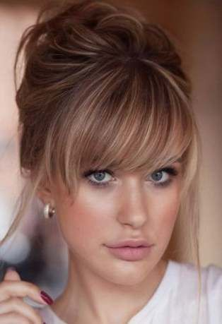 22 Ideas Hairstyles Fringe Ideas Colour Hairstyles Beautiful Blonde Hair Medium Hair Styles Long Hair With Bangs