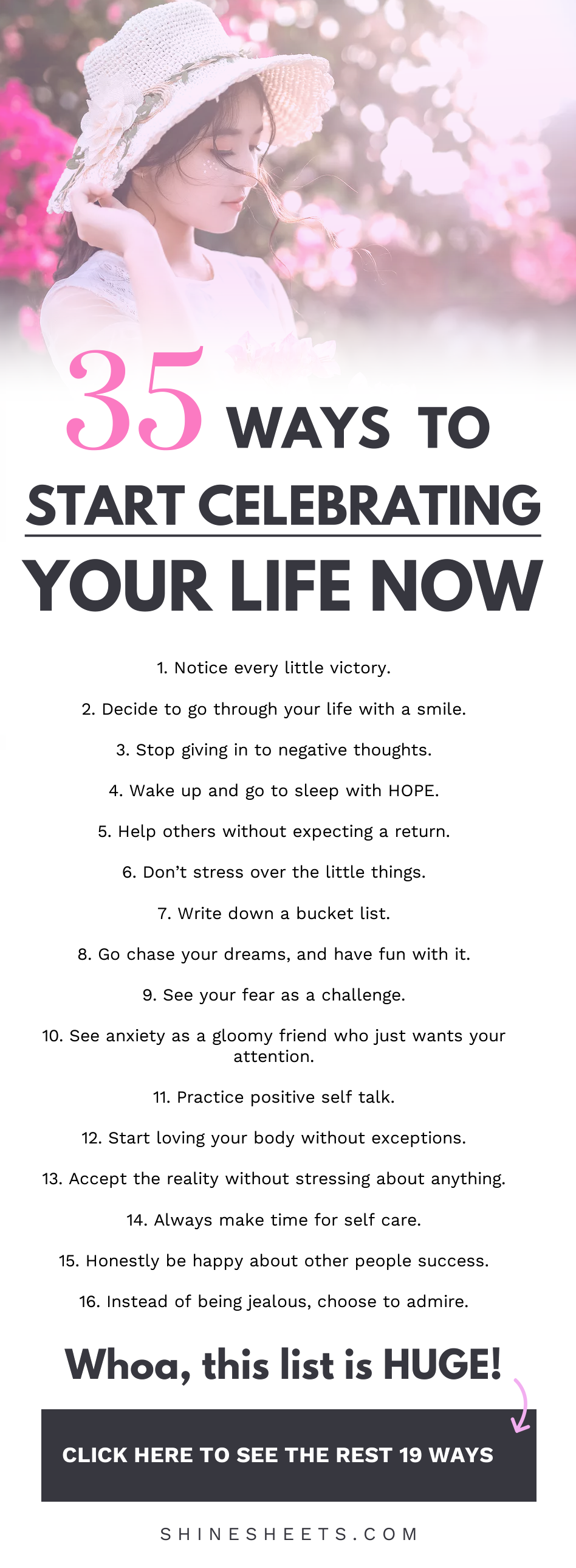 How to celebrate your life EVEN if it s not perfect. |  | How to be happy, be happier, be happy wit