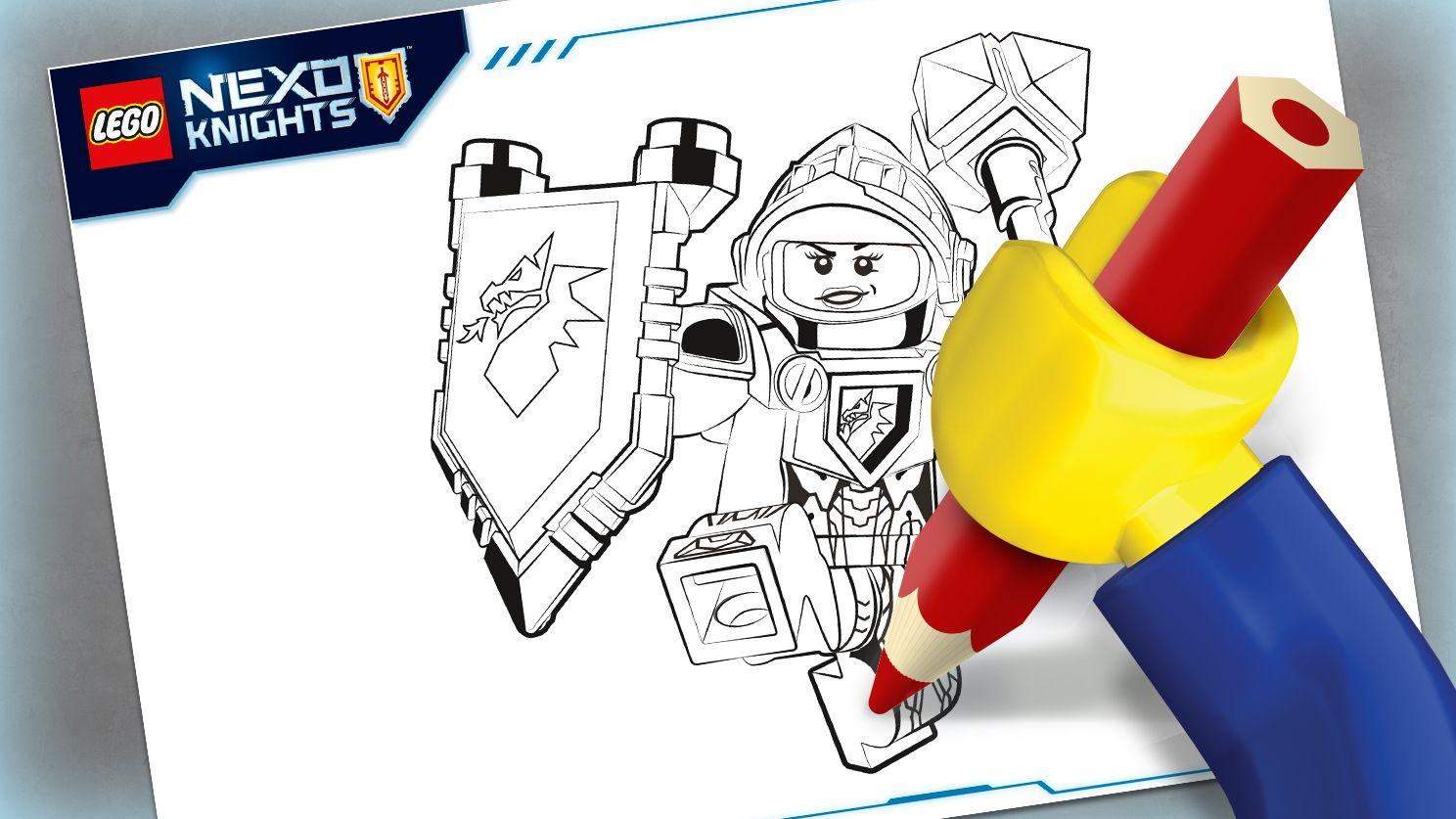 LEGO Macy coloring sheet. :)   LEGO® Coloring Sheets   Pinterest