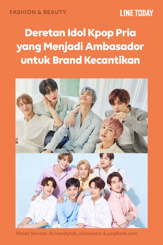 Deretan Idol Kpop Pria Yang Menjadi Ambasador Untuk Brand Kecantikan Di 2020 Idol Produk Kecantikan Kecantikan
