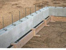 Apex block insulated concrete form icf icf 39 s green for Foam concrete forms for pools