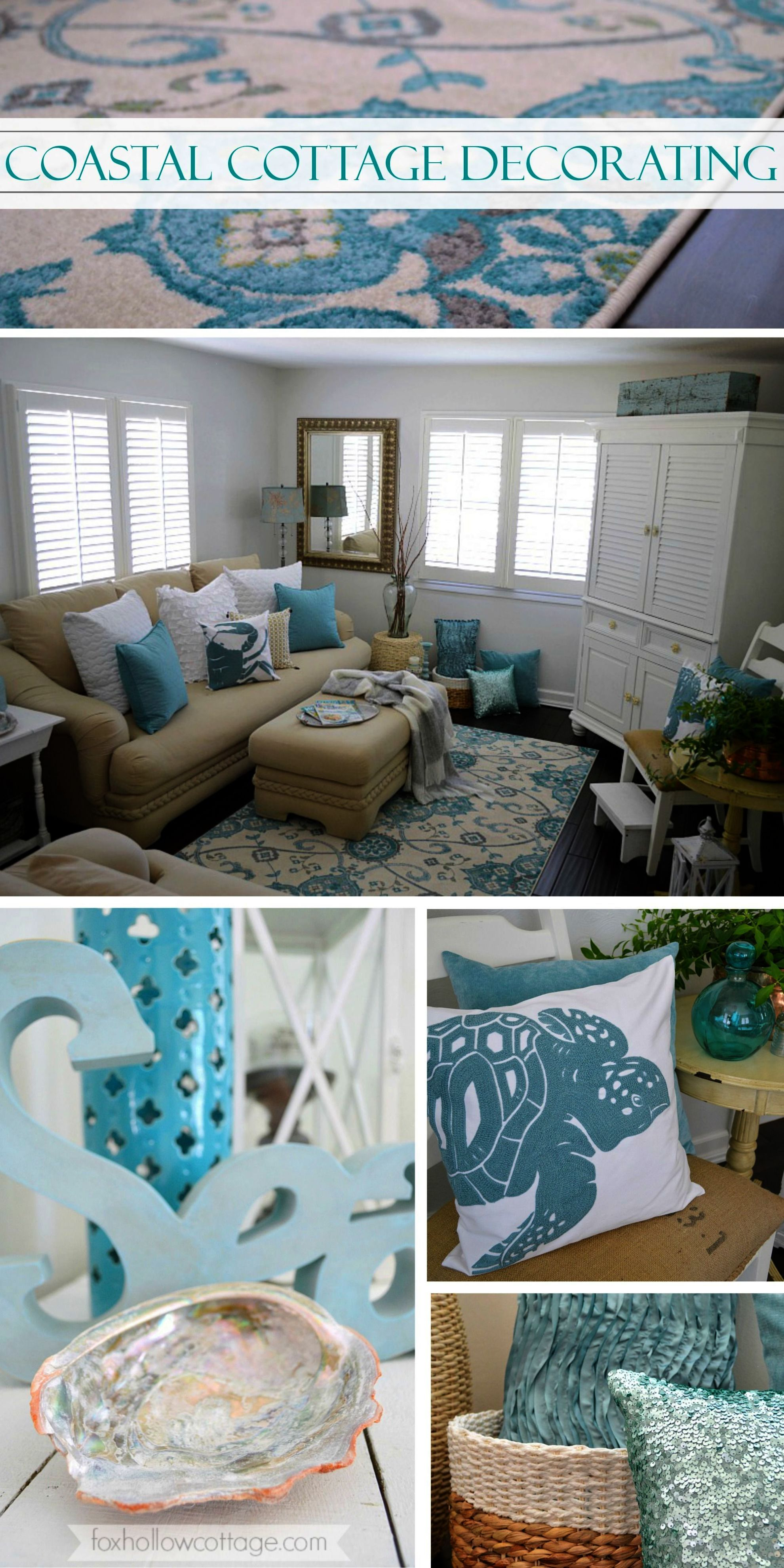 Coastal Cottage Of The Year Beach House Decor Colors