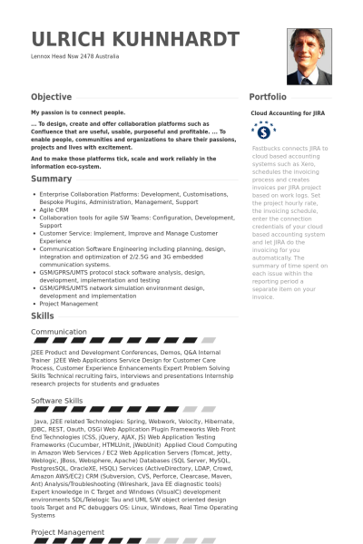 Visualcv Java Developer Resume Samples Visualcv Resume Samples Database 443b3370 Resumesample Res Resume Examples Cover Letter For Resume Job Resume Examples