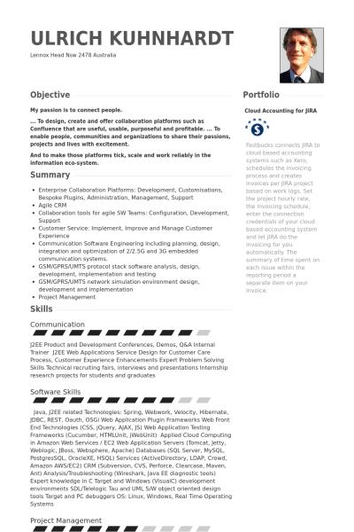 Visualcv Java Developer Resume Samples Visualcv Resume Samples Database 443b3370 Resumesample Res Resume Examples Job Resume Examples Cover Letter For Resume