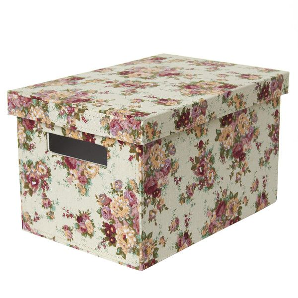 Country Floral Storage Box Dunelm Mill Shabby Chic Bedrooms