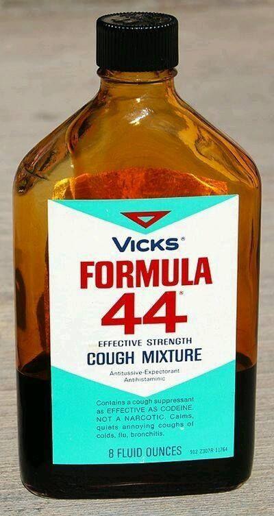 Formula 44 De Vicks Quien Ha Tomado Este Jarabe Para La Tos Childhood Memories Sweet Memories My Childhood Memories