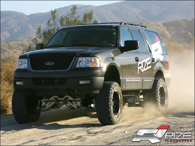Rize 8 Lift Kit 2003 2006 Expedition Ford Expedition Ford Explorer Expedition