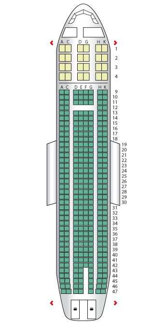 Aer Lingus Seat Map Seat plan for the Aer Lingus A330 200 | IRELAND | Pinterest  Aer Lingus Seat Map