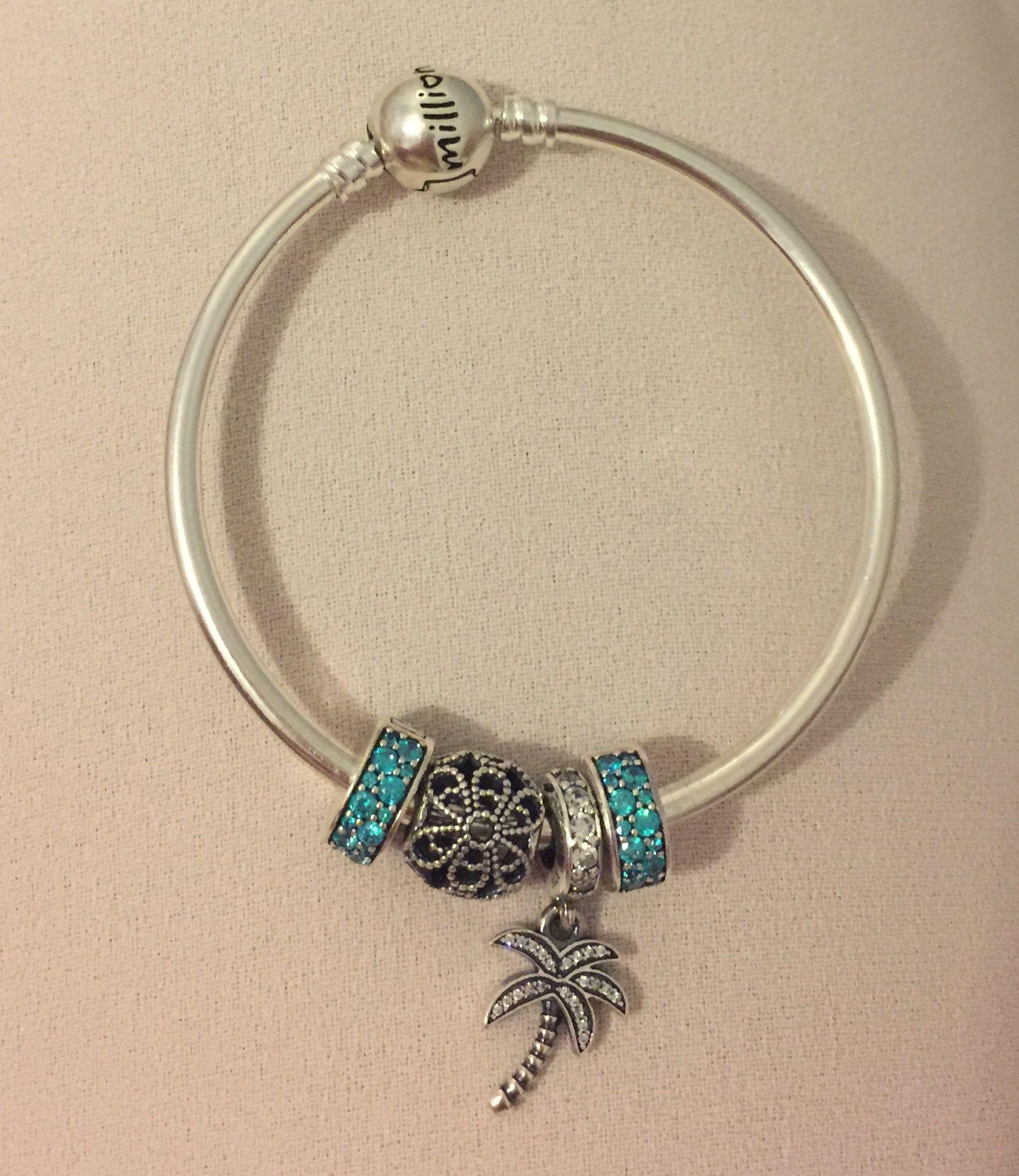 pandora bracelet bleu turquoise