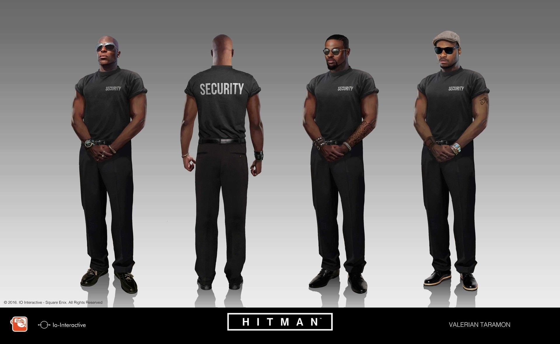Artstation Hitman 2016 Valerian Taramon Hitman Design