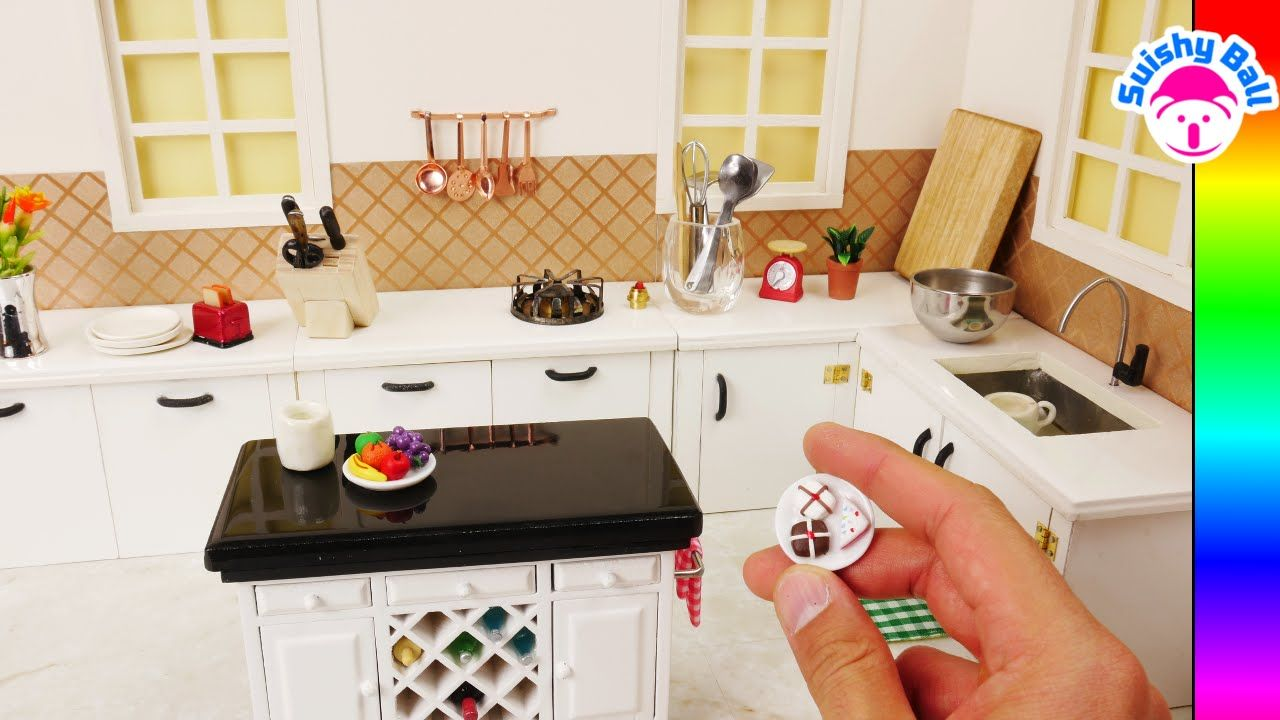Miniature kitchen i made this kitchen and it really works diy