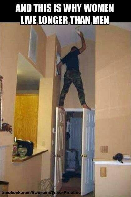 this is why women live longer than men | always laugh when ...