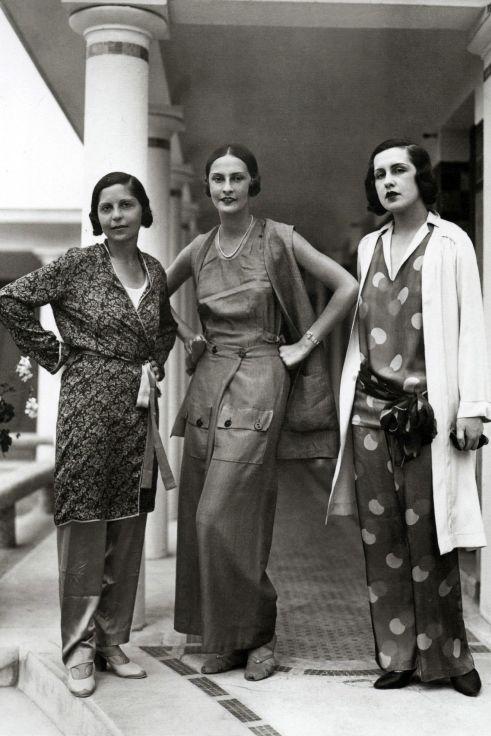 Schiaparelli designs (1929) | Source: Flickr/Laura Loveday