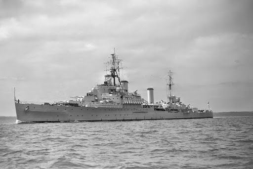 HMS Gambia (pennant number 48, later C48) was a Crown Colony-class light cruiser of the Royal Navy. She was in the service of the Royal New Zealand Navy (RNZN) as HMNZS Gambia from 1943 to 1946. She was named after the then Crown colony of The Gambia, and has been the only ship of the Royal Navy to bear the name