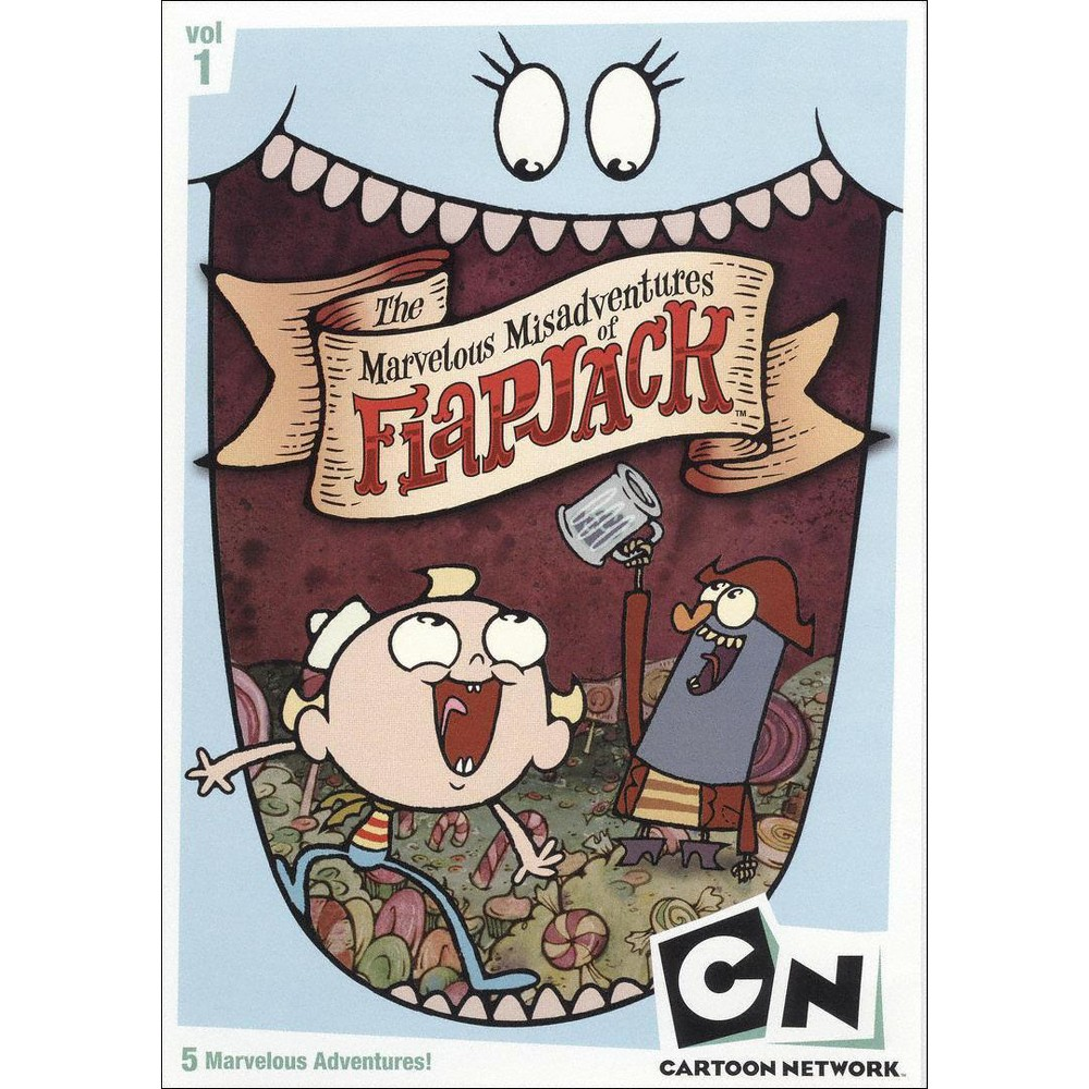 Marvelous Misadventures Of Flapjack: Volume 1 (DVD