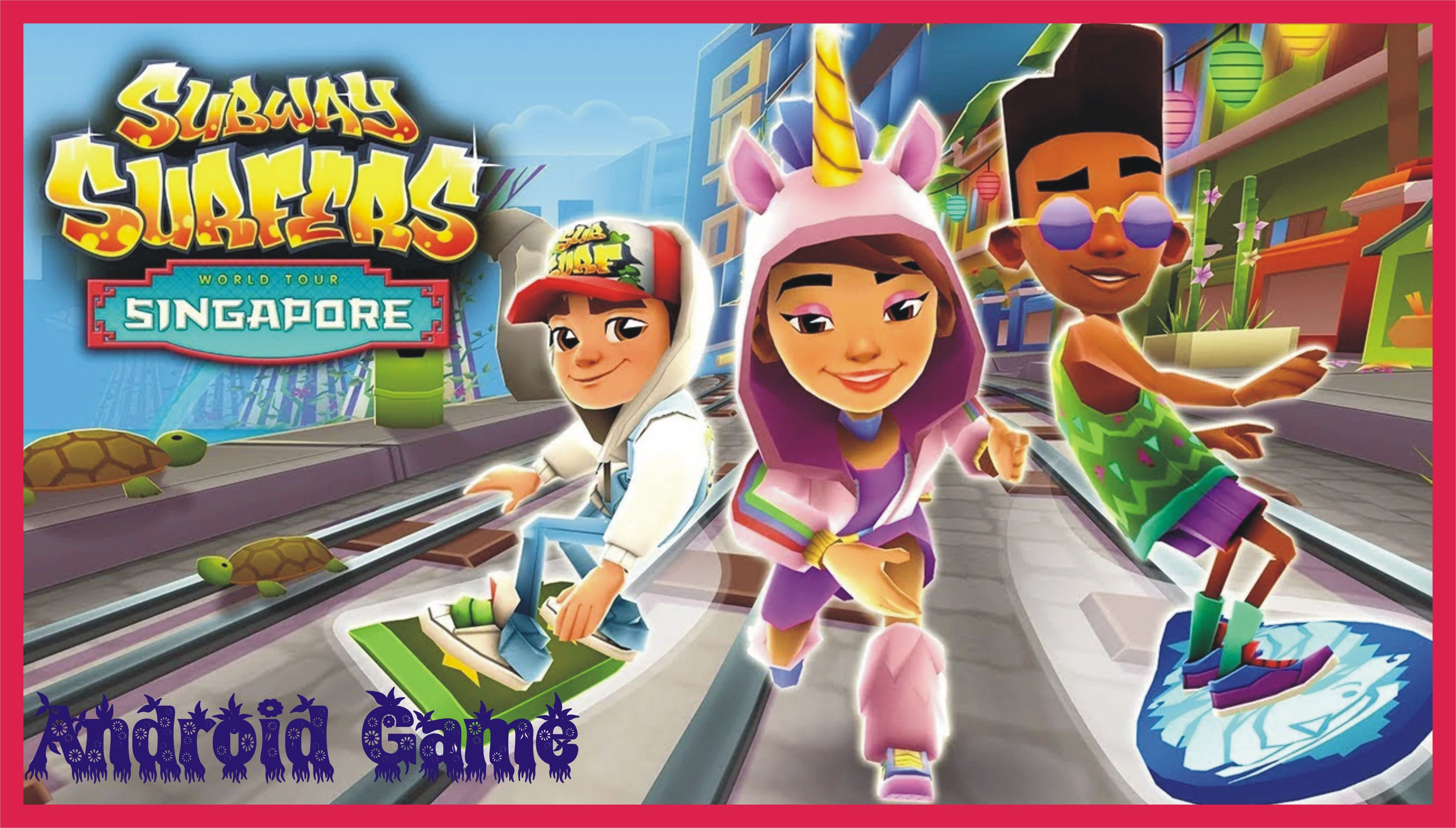 Subway Surfers Mobile Game in 2020 Subway surfers