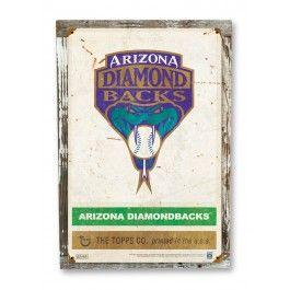 1999 Arizona Diamondbacks Vintage Sign
