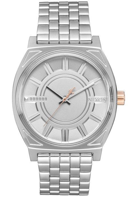SPECIFICATIONS: MOVEMENT: Miyota Japanese quartz 3 hand.DIAL: The dial includes applied indices, and custom molded hands.CASE: 37 mm, 100 meter / 10 ATM , custom solid stainless steel case, solid stai
