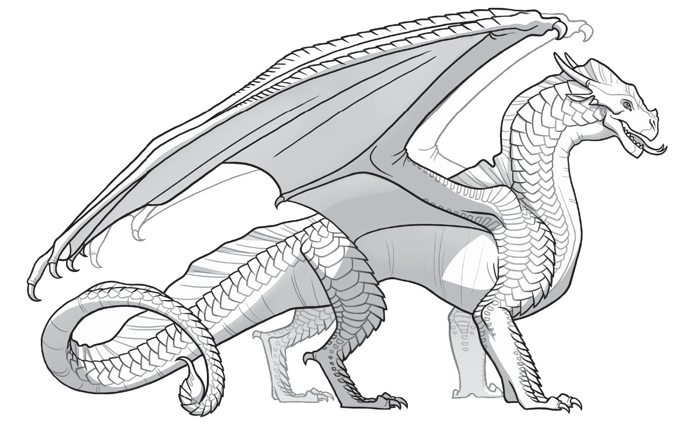 Free Coloring Pages Animals Best Of Creating Pages Wings Of Fire Fan Wiki In 2020