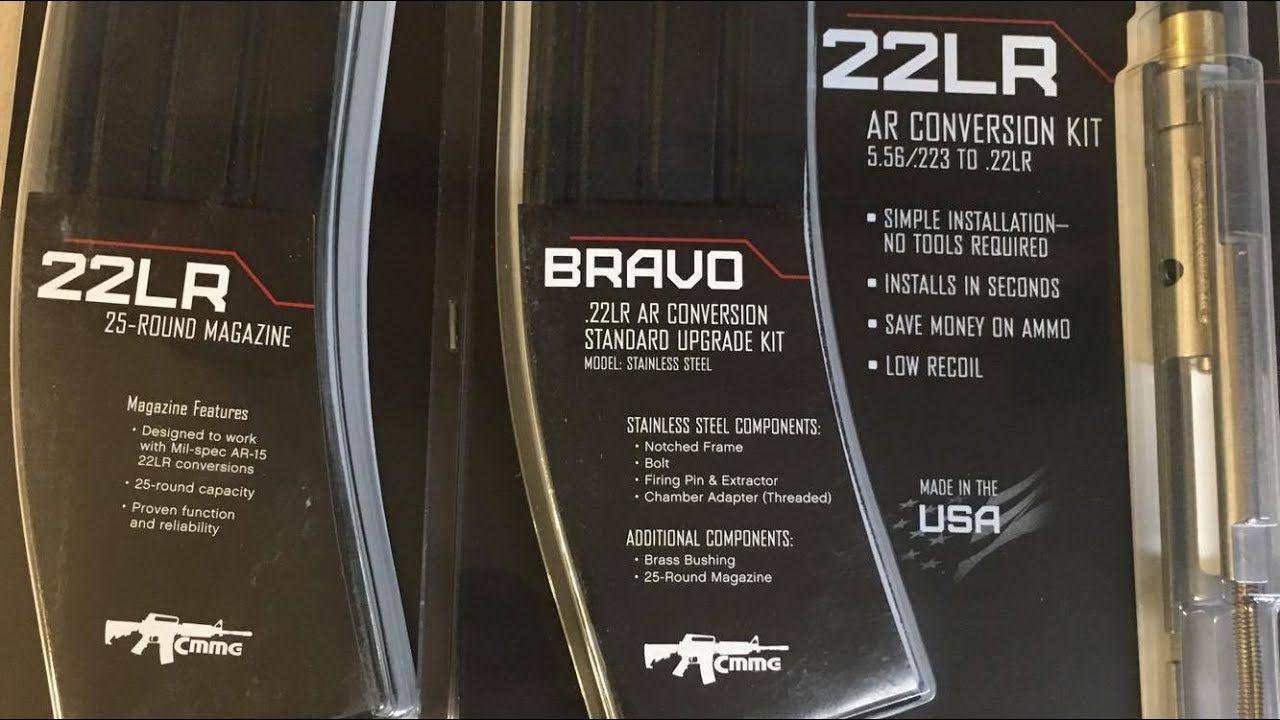 CMMG AR15  22lr conversion kit