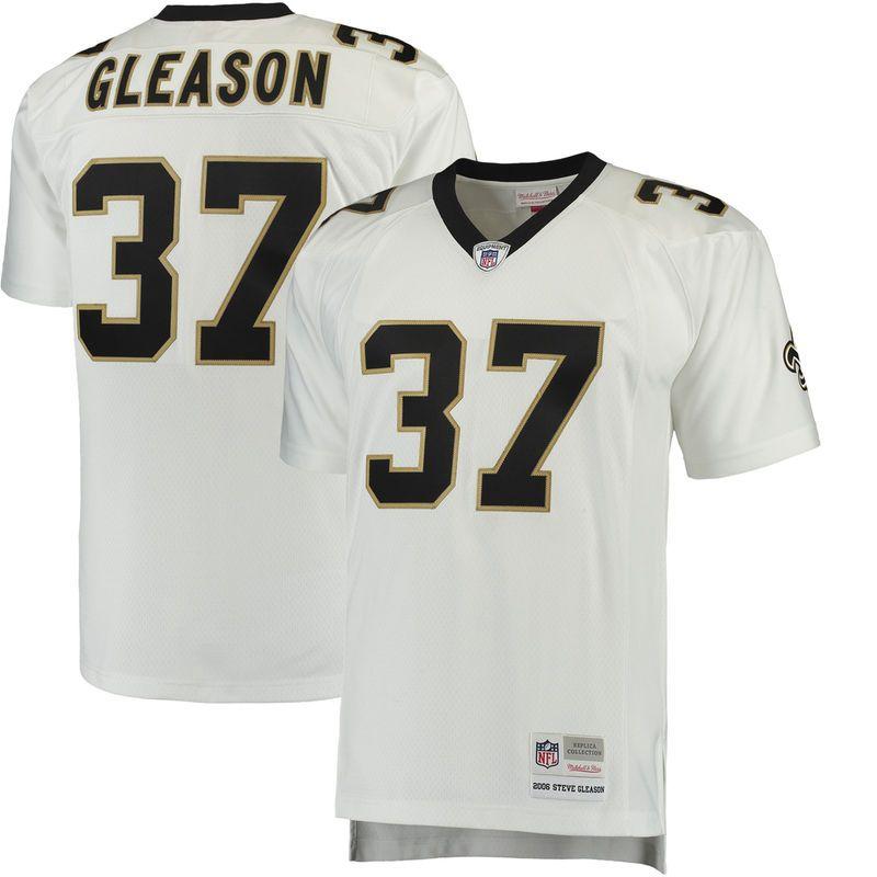 meet cff5a 5045a Steve Gleason New Orleans Saints Mitchell & Ness Retired ...
