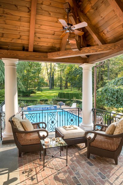 Pool Pavilion With Images Outdoor Living Outdoor Living Space