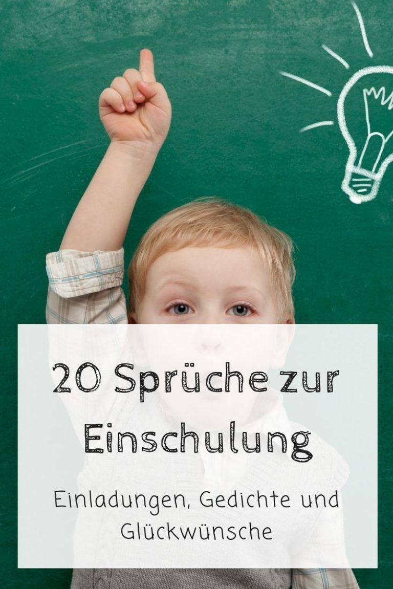 Sprüche Zur Einschulung Sei Schlau Wie Ein Fuchs Sprüche ...