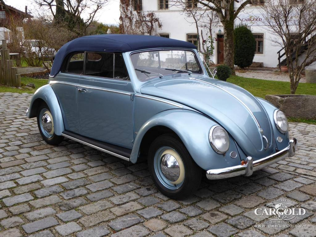 Stocklist vw 1200 cabriolet 1954 for sale