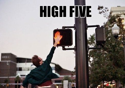 High Five Www Meme Lol Com The Funny Funny Pictures High Five