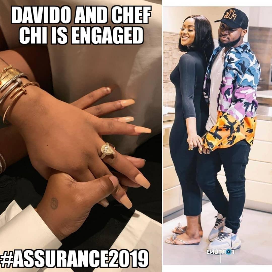 Sneekpeek of #Nigerian Superstar #Davido's #ProposalVideo!!! @thechefchi is #Engaged as #SheSaidYes!! Congrats @davidoofficial and #chefchioma . 👑❤👑🎊💍 . . . . . . . #bridetobe #willyoumarryme #isaidyes #howheasked #jamaica #lagos #nigeria #myafrocaribbeanwedding #nigerians #blacktravelfeed #weddingplanners #supportblackowned #weddingvendors #afrobeats #igbowedding #yorubawedding #chefchioma #afrobeatsmusic #engagementring #assurance #nigerianchef