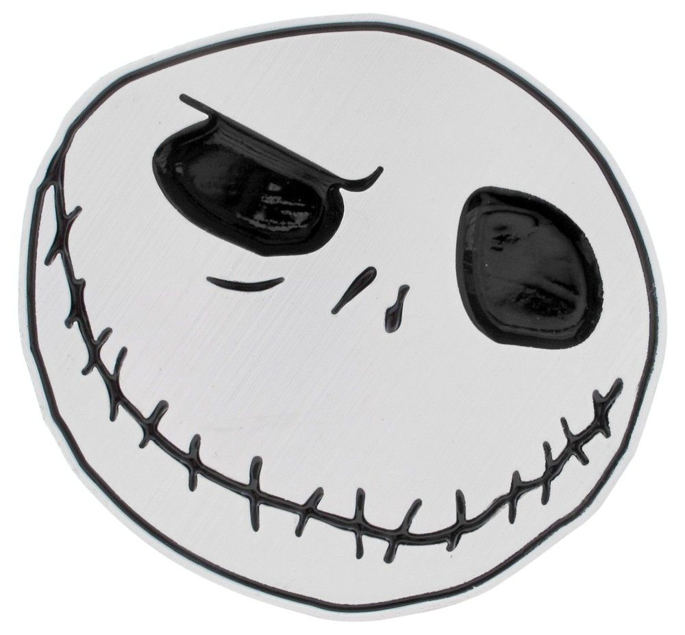 Nightmare Before Christmas Trailer Hitch Receiver Cover - 1-1/4\