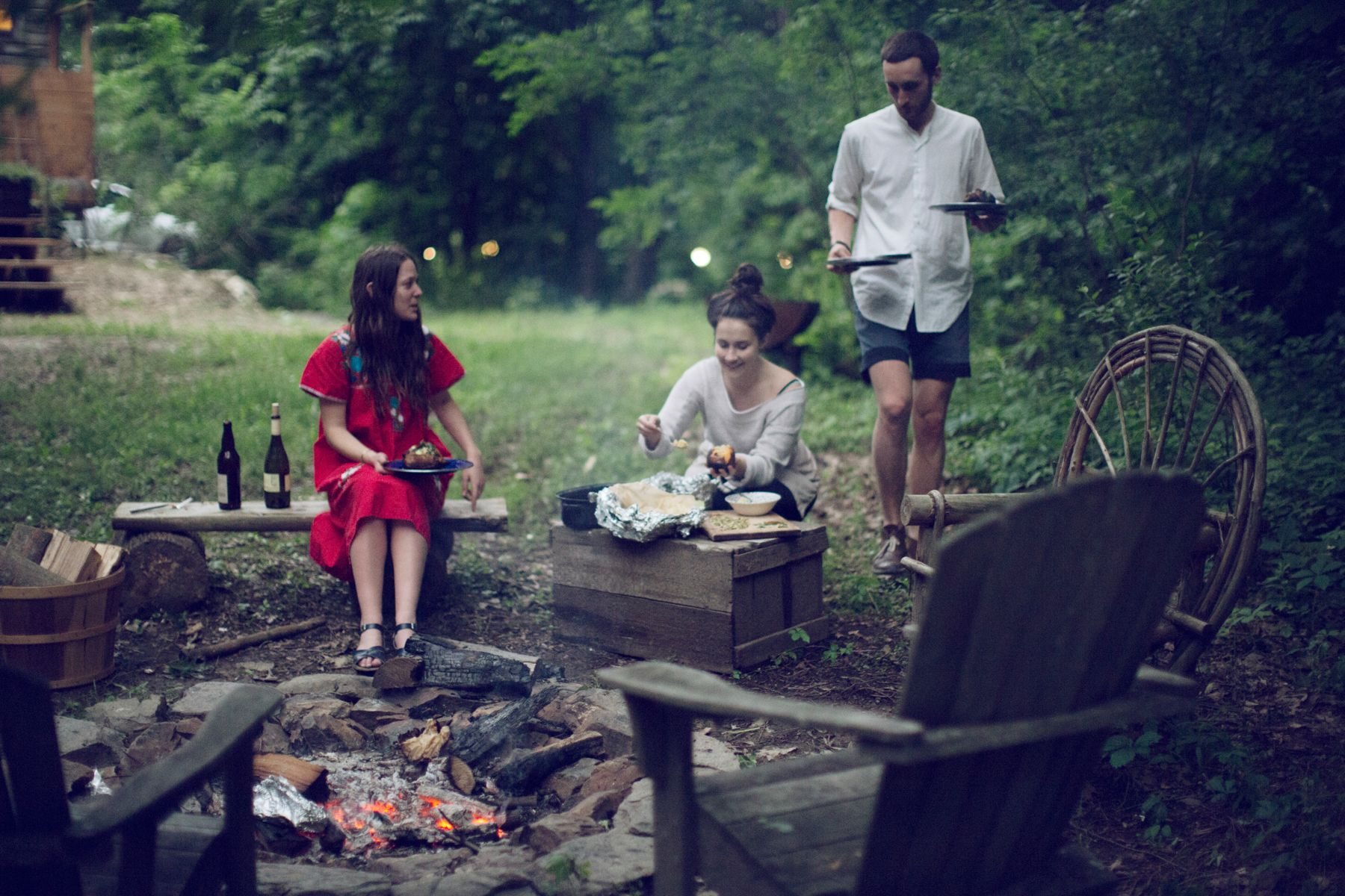 Hobo Meals Over The Campfire Kinfolk 庭