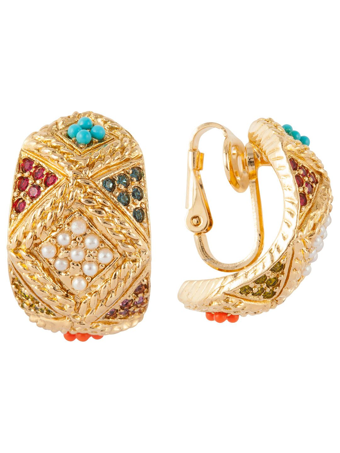 bafa56582f458 BuySusan Caplan Vintage D'Orlan 22ct Gold Plated Faux Pearl and ...