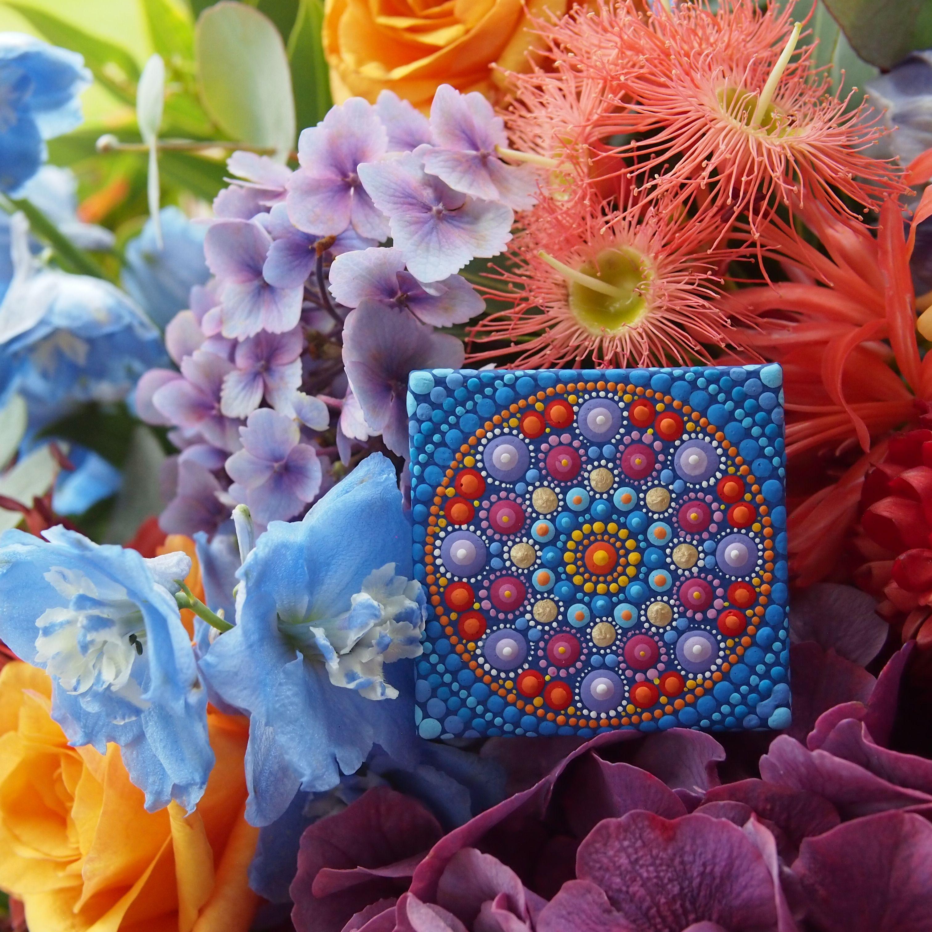 Mini Mandala by Elspeth McLean #elspethmclean #mandala #minimandala ...