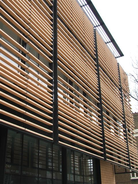 James And Taylor Terracotta Solar Shading Facade