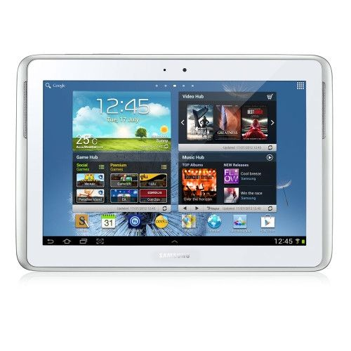 "Samsung GALAXY Note 10.1"" Android 4.0 White GT-N8010ZWAXSA from Saol Technology"