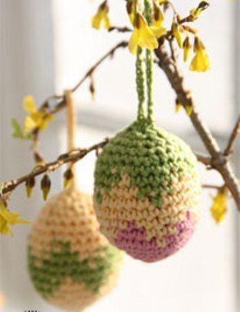 ♥♥♥♥ IO UNCINETTO : UNCINETTARE IN COMPAGNIA ♥♥♥♥: uova di pasqua all'uncinetto
