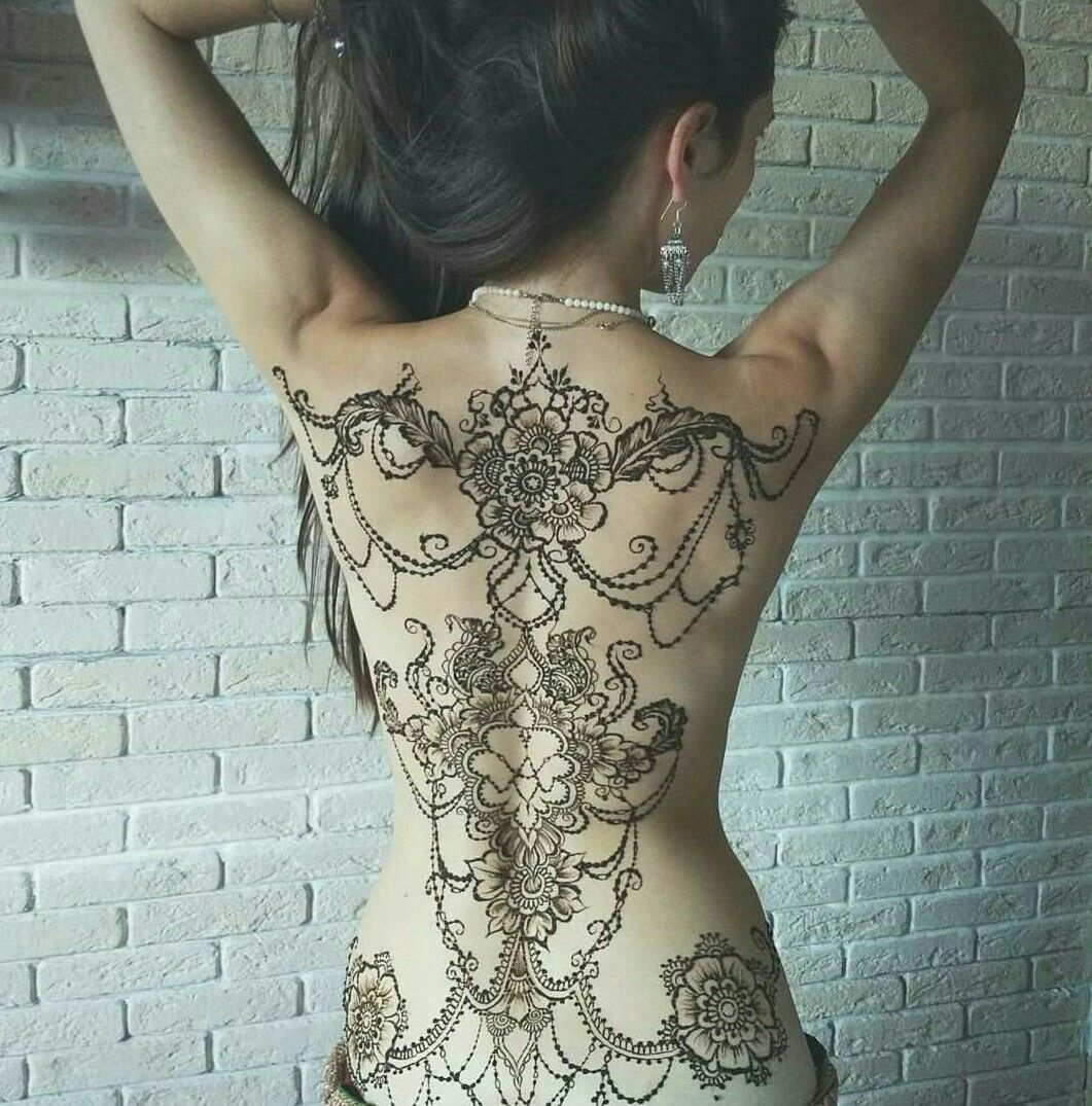 Quite Spectacular Henna Tattoo Full Body Henna Henna Tattoo Designs