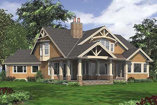 Plan 23252jd Dramatic Craftsman House Plan Craftsman Style House Plans Craftsman House Plans Craftsman House