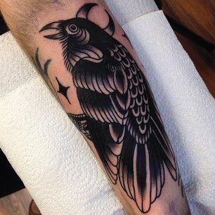 crow tattoo 28