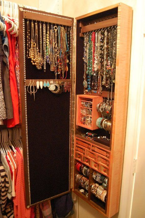 Large Jewelry Box Jewelry Organizer Box Large Jewelry Box Jewelry Armoire Diy