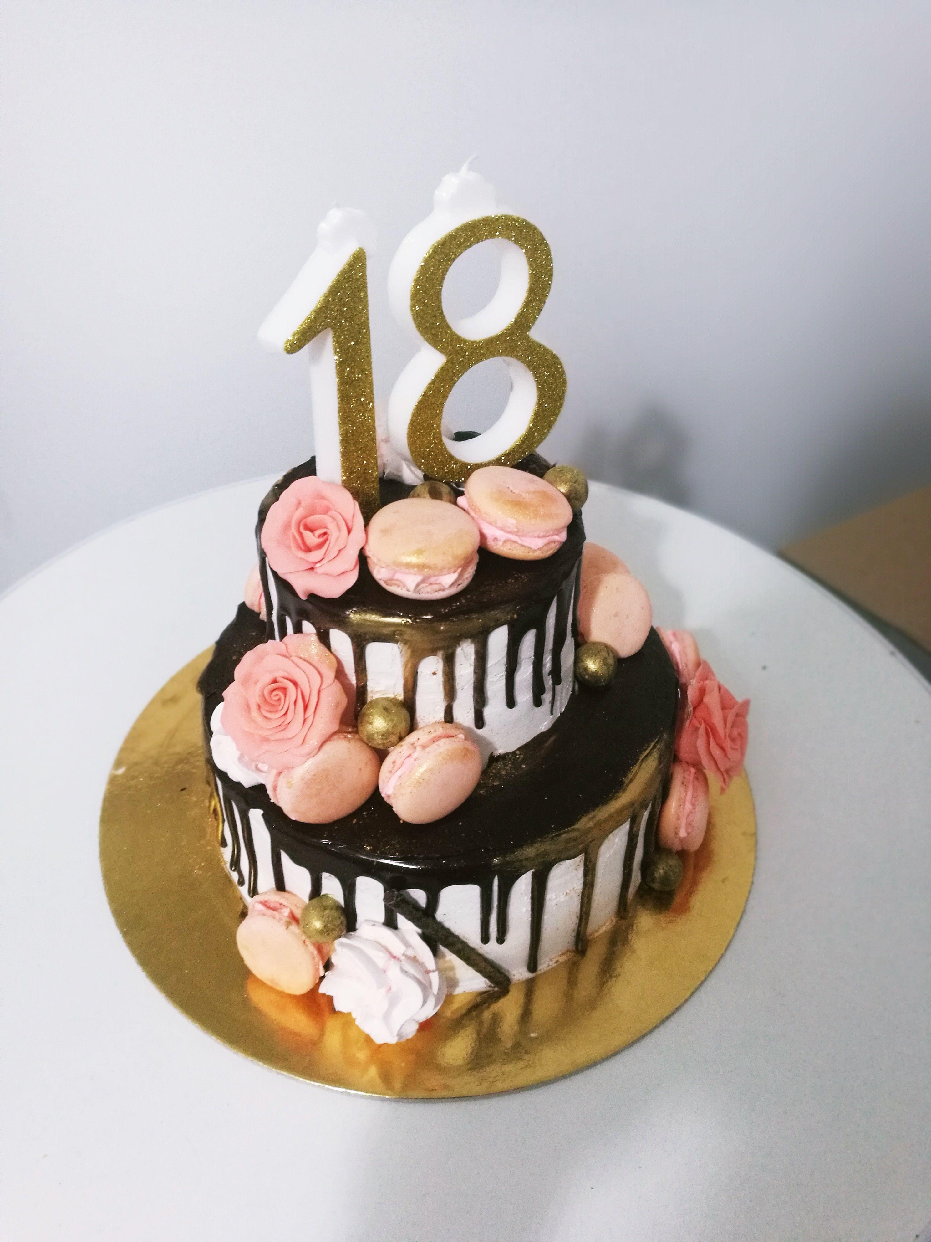 Female 18th Birthday Cake : female, birthday, Birthday, Years, Music, Cakes,, Girls,, Snacks