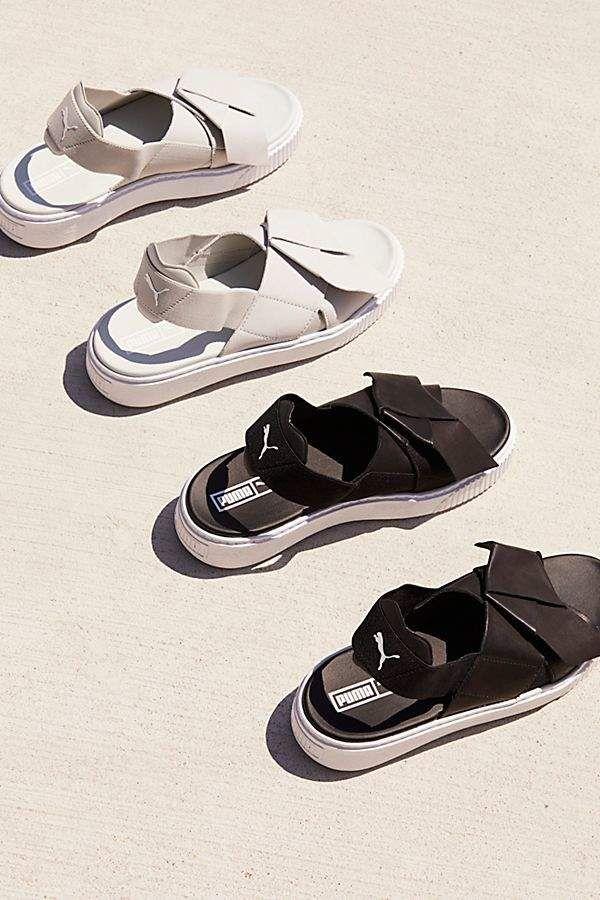 Acelerar Escalera Permanentemente  Puma Platform Sandals